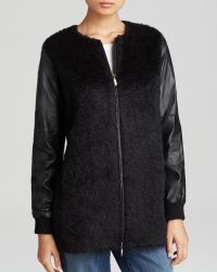 Eileen Fisher - The Fisher Project Mixed Media Jacket - Lyst