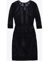 Iro Ashlyn Meshlace Dress - Lyst