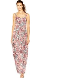 French Connection Floral Maxi Dress - Lyst