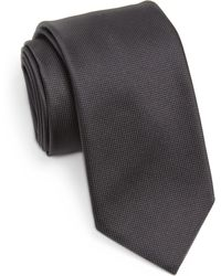 BOSS | Textured Solid Tie | Lyst