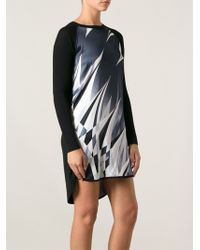 Emilio Pucci Abstract Print Dress - Lyst