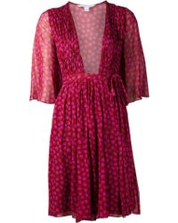Diane Von Furstenberg Pink Alicia Dress - Lyst