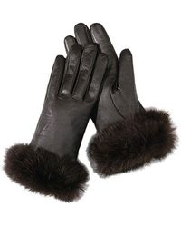 San Diego Hat Company Womens Leather Gloves - Lyst