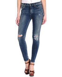 Citizens Of Humanity Rocket High Rise Skinny in Indie - Lyst
