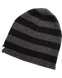 Subtle Luxury Striped Beanie - Lyst