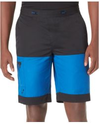 Calvin Klein Logo Colorblocked Board Shorts - Lyst