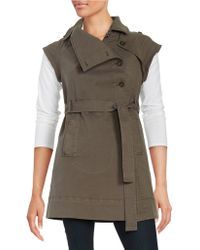 Tinsel - Stretch-cotton Utility Vest - Lyst