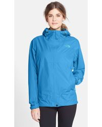 The North Face 'Dryzzle' Hooded Jacket blue - Lyst