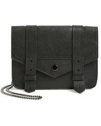 Proenza Schouler - 'large Ps1' Leather Crossbody Wallet - Lyst