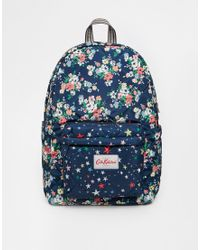 Cath Kidston - Quilted Backpack - Lyst