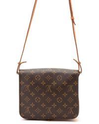 Louis Vuitton Monogram Shoulder Bag brown - Lyst