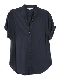 Xirena Channing Chalkboard Shirt blue - Lyst