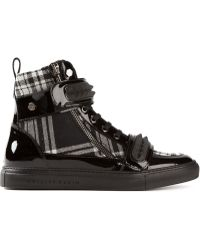 Philipp Plein Check It Out Hi-top Sneakers - Lyst