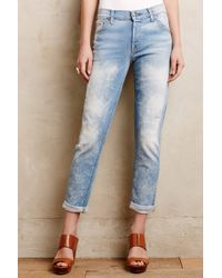 7 For All Mankind Josefina Skinny Boyfriend Jeans - Lyst