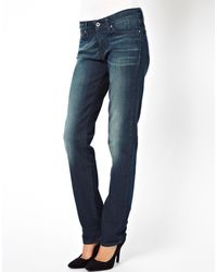 Levi's Levis Demi Curve Straight Jeans - Lyst