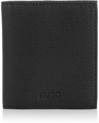 HUGO - Leather Card Case 'Thermi' - Lyst