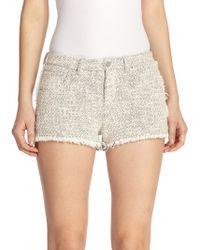 IRO Hery Five-Pocket Cut-Off Shorts - Lyst