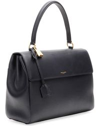 Saint Laurent - Moujik Large Calfskin Satchel Bag - Lyst