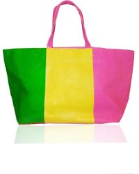 Lisa Perry Triband Tote - Lyst