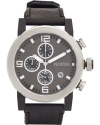 "Nixon ""The Ride"" Watch - Lyst"