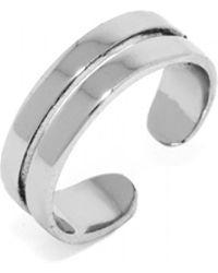 BaubleBar Diana Midi Ring - Lyst