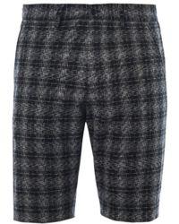Bottega Veneta - Checked Tailored Shorts - Lyst
