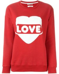 Each x Other - Love Print Sweatshirt - Lyst