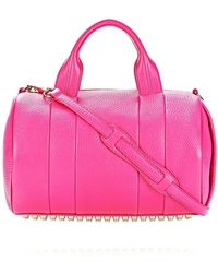Alexander Wang Rocco in Flamingo with Pale Gold - Lyst