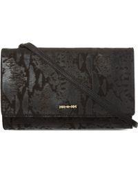 McQ by Alexander McQueen Zip Leather Clutch - Lyst