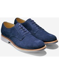 Cole Haan Great Jones Plain Oxford blue - Lyst