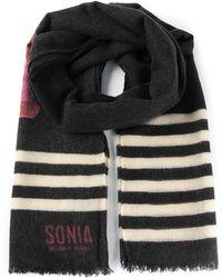 Sonia By Sonia Rykiel Shoe Print Scarf - Lyst