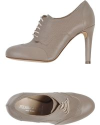 Pierre Darre' Lace-Up Shoes gray - Lyst