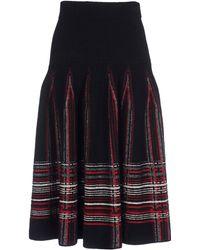 M Missoni Knee Length Skirt - Lyst
