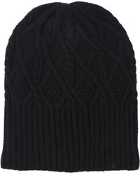 Akira Black Label - Fleece Lined Hat - Black - Lyst