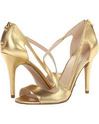 Nine West Gold Simplistic - Lyst