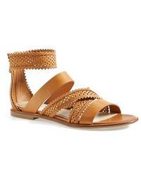 See By Chloé Women'S 'Lyn' Strappy Flat Sandal - Lyst