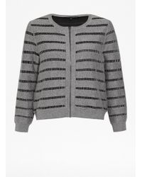 French connection Una Knits Cardigan - Lyst