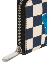 Marc By Marc Jacobs - Don'T Panic Checkerboard-Print Wallet - Lyst