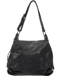 Pierre Balmain Large Leather Bag - Lyst