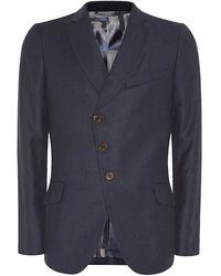 Vivienne Westwood Asymmetric Slim Fit Jacket - Lyst