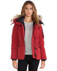 Canada Goose Montebello Parka with Coyote Fur Trim - Lyst