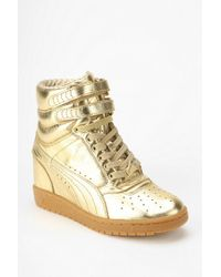 Urban Outfitters - Hidden Wedge High Top Sneaker - Lyst