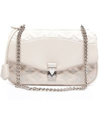 Louis Vuitton Preowned White Lambskin Mama Broderie Bag - Lyst