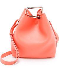 3.1 Phillip Lim Quill Mini Bucket Bag - Powder pink - Lyst