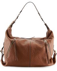 Kooba Lauren Pebbled Zip Hobo Bag - Lyst