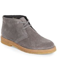 Vince Clay Suede Chukka Boots - Lyst