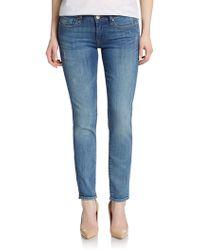 Mavi Jeans - Alexa Skinny Ankle Jeans - Lyst