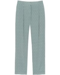 Mulberry Green Richmond Trousers - Lyst