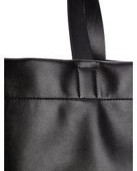 Jil Sander - Open-Top Leather Tote - Lyst