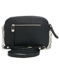 Phase 3 - Zip Front Cross-Body Bag - Lyst